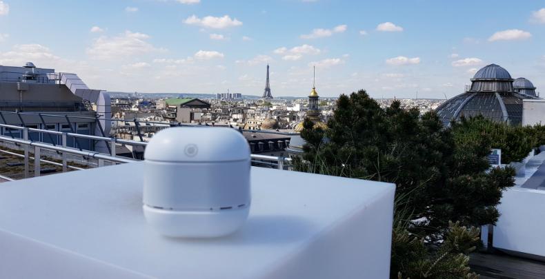 Depuis Hong Kong, un Français veille sur la qualité de l'air
